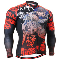 Fixgear Men Thermal Essential Winter Cycling Gear Long sleeve XS~XXL