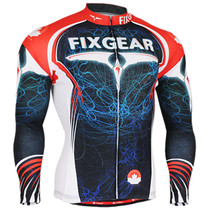 Fixgear Mens Winter Long sleeve Thermal Cycling Clothing XS~2XL