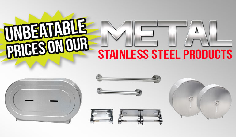 Unbeatable Prices on Stainless Steel restroom products from Palmer Fixture
