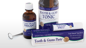 Complete Herbal Tooth and Gum Kit