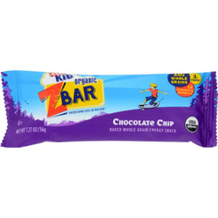 Clif Bar Zbar - Organic Chocolate Chip - Case Of 18 - 1.27 Oz