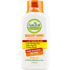 Natural Dentist Healthy Gums Orange Zest Antigingivitis Rinse, 2 Ounce
