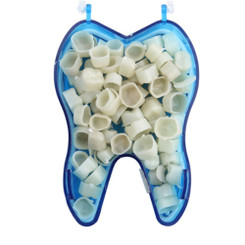 Dental Temporary Crown Kit Molar Posteriors Box/50