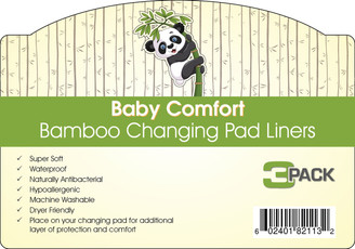 Baby Comfort Bamboo Changing Pad Liners