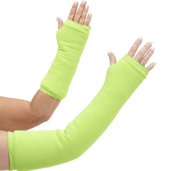 You'll be noticed in our long and short arm cast cover in bold neon green.