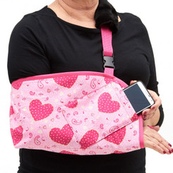 CastCoverz! Slingz! - Pink Paisley Hearts