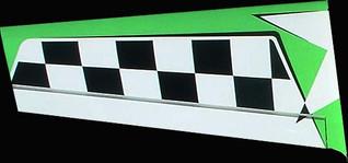 Wings, MX2 Green 57in, set of 2