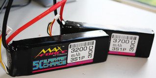 Max Force 3700mah 3S1P 30C Lipoly Battery