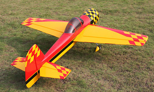 YAK55M-73in,G-Man scheme