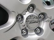 2007 Santa Fe Wheel Cap Emblem Set