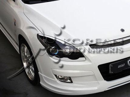 Hyundai i30 M&S lower Headlight Trim Eyelines Elantra Touring 2006 2007 2008 2009 2010 2011