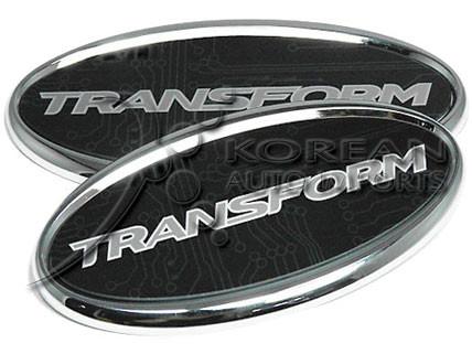 09 Sonata Quot Transform Quot Badge Set Korean Auto Imports