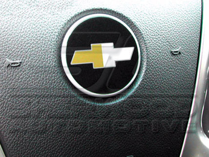 Captiva Chevy Steering Wheel Emblem Korean Auto Imports