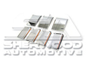 Captiva Chrome Bumper Trim Set