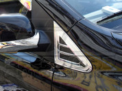 Actyon Chrome Fender Vents