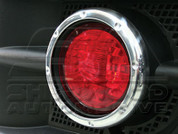 Actyon Aluminum Rear Bumper Light Rings