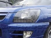 Sportage Black Bezel Headlights