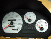 Matiz BROS White Gauges