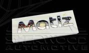 Matiz Chrome Letter Emblem