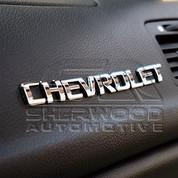 Aveo 07+ Chevrolet Letter Emblem