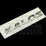 Aveo/Kalos 5 07+ Crystal Kalos Emblem