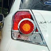 Aveo/Kalos 5 07+ Chrome Taillight Covers