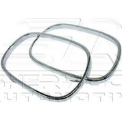 Lacetti / Forenza Chrome Mirror Rings