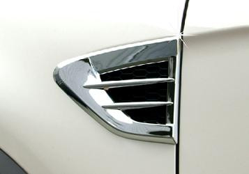 Captiva Chrome Fender Vent Covers Korean Auto Imports