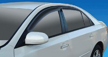 Sonata Smoke Window Visors