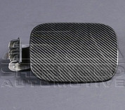 Captiva Carbon Fiber Fuel Door