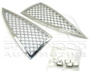 Actyon Chrome Mesh Grill Inserts