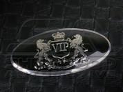 VIP Style Steering Wheel Emblem