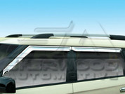 Soul Chrome Window Visors