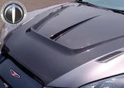 Genesis Coupe Tomato Carbon Fiber Hood