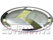 VIP K Steering Wheel Emblem Silver