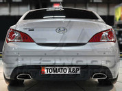 Genesis Coupe Tomato 380GT Rear Garnish Decal