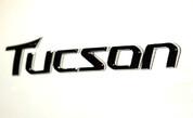 2010+ Tucson Chrome Emblem