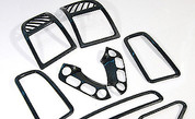 07+ Santa Fe Carbon Fiber Interior Kit