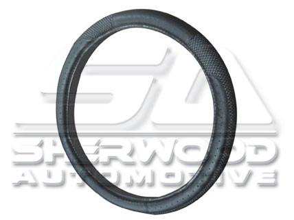 Black Coolmax Steering Wheel Cover
