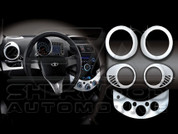 Chevy / Holden Spark Chrome Interior Kit
