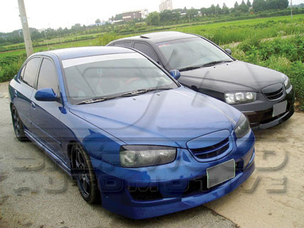 elantra xd sedan cuper body kit korean auto imports. Black Bedroom Furniture Sets. Home Design Ideas