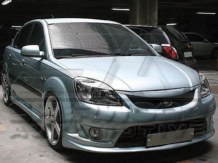Rio Sedan Cuper Body Kit Korean Auto Imports