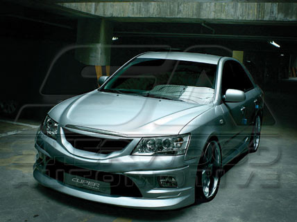 09 sonata cuper body kit korean auto imports. Black Bedroom Furniture Sets. Home Design Ideas