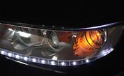 Azera LED Headlight DRL Module Set