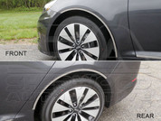 2011+ Optima K5 Chrome Wheel Fender Trim