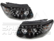 CM Santa Fe Audi Q7 Style LED Headlights