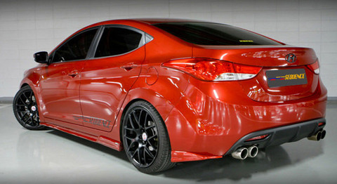 2011 Md Elantra Sequence Body Kit Korean Auto Imports
