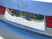 Sonata NF Chrome License Plate Trim