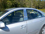 Sonata NF Chrome Window Trim 12pc