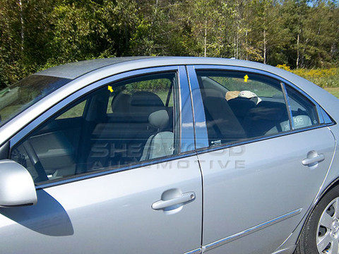 Sonata NF Chrome Window Trim 6pc